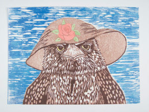 bird with a hat - Image by Bev Hundley